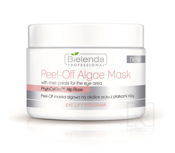 Bielenda Peel-off maska algowa na okolice oczu z płatkami róży, 90 g #1