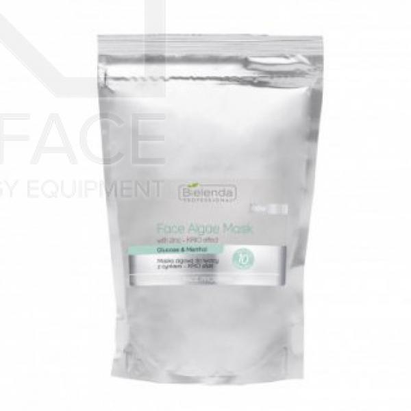 Bielenda Maska algowo do twarzy z cynkim - efekt krio 260 g #1