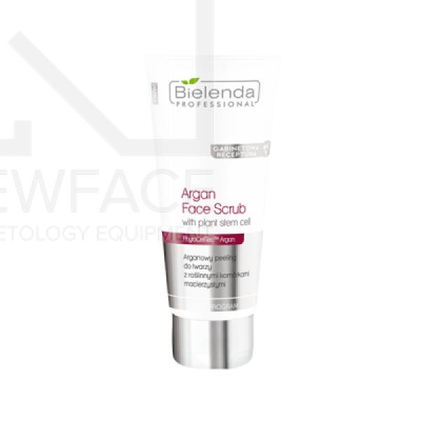 Bielenda Arganowy peeling do twarzy z roślinnymi komórkami macierzystymi, 70 g #1