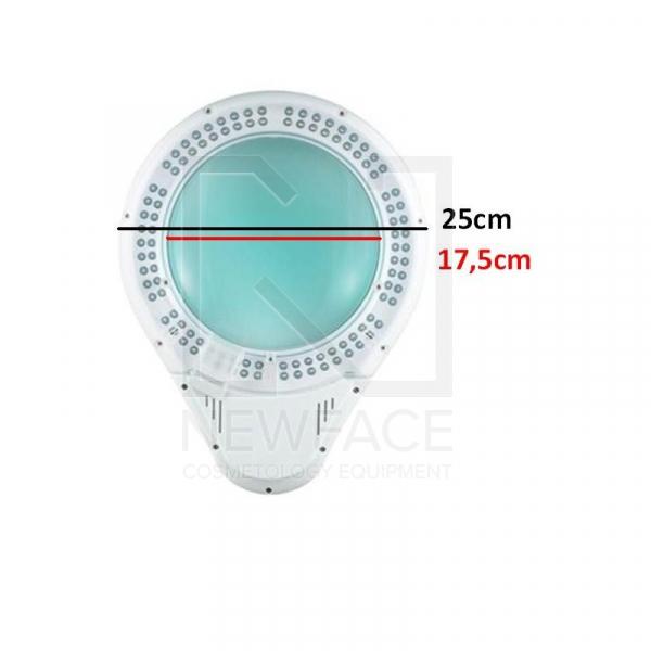 lampa led kosmetyczna Lupa 5D (108 x LED) #5
