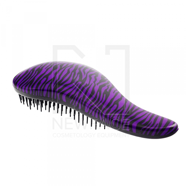 Szczotka Detangler Long Purple Zebra #1
