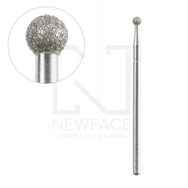 Frez Diamentowa Kulka 2,5/2,5mm Acurata #1