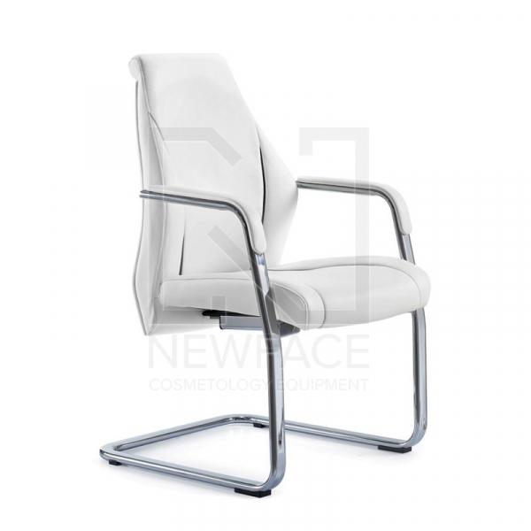 Fotel Kosmetyczny Rico 306 Biały #1