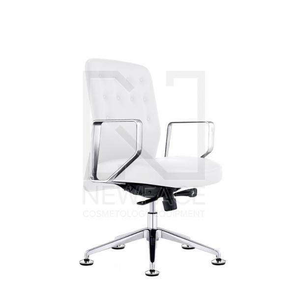 Fotel Kosmetyczny Rico 299 Biały #1