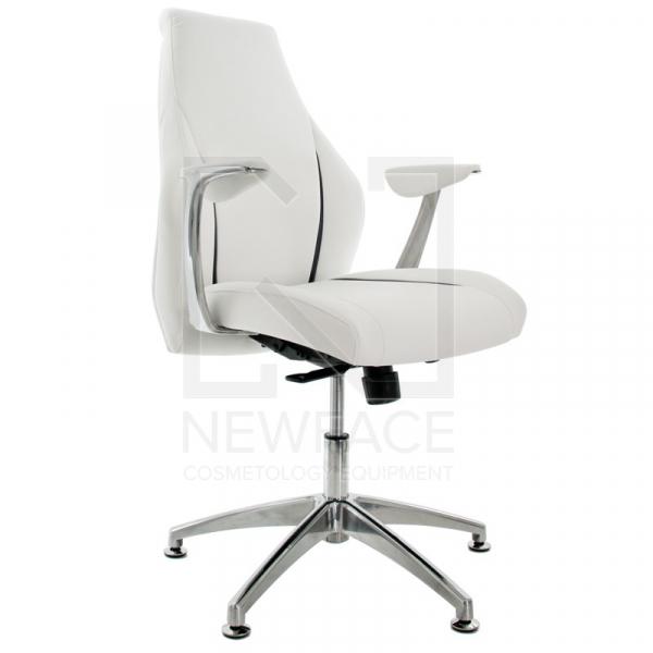 Fotel Kosmetyczny Rico 206 Biały #1