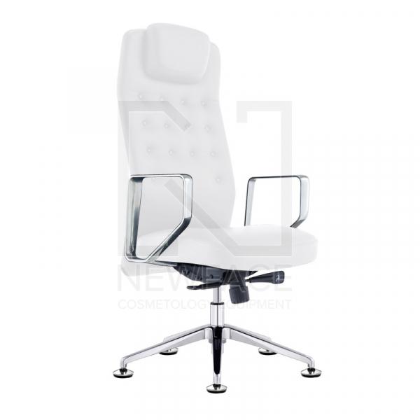 Fotel Kosmetyczny Rico 199 Biały #1