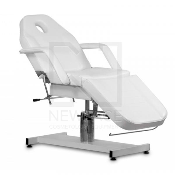 Fotel Kosmetyczny Hydrauliczny A 210 Biały #1