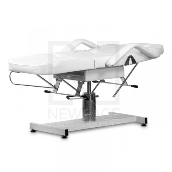 Fotel Kosmetyczny Hydrauliczny A 210 Biały #3