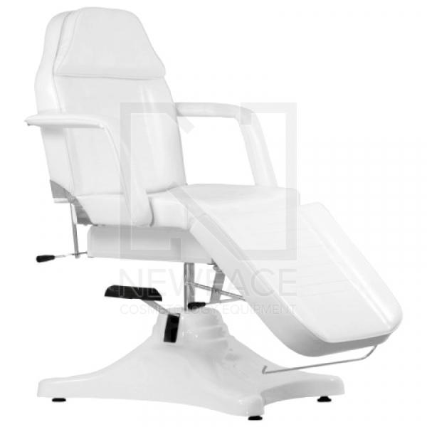 Fotel Kosmetyczny Hydrauliczny A 234 Biały #1