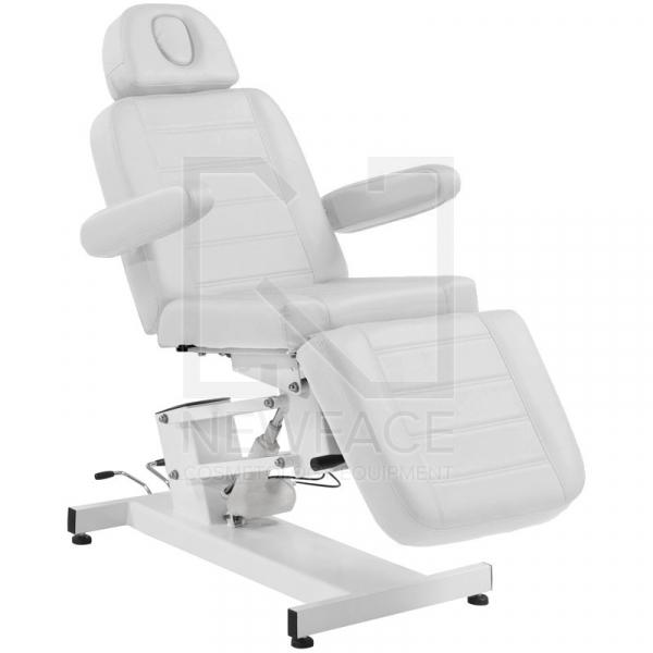 Fotel Kosmetyczny elektryczny Azzurro 705 Biały #1