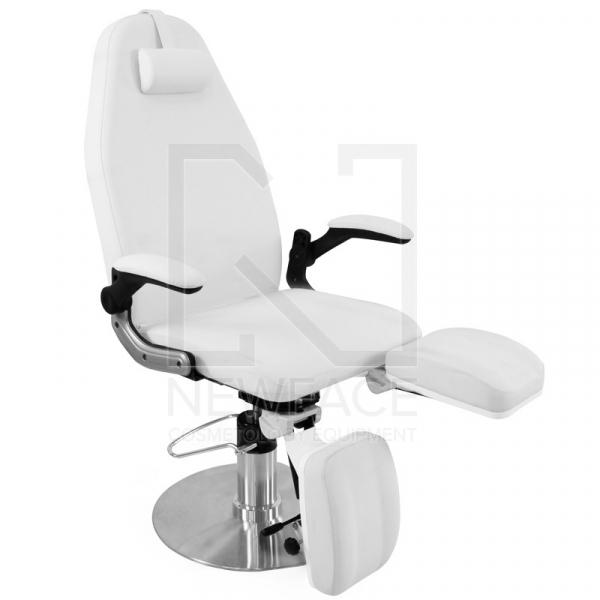 Fotel Podologiczny Hydrauliczny Azzurro 713A Biały #1