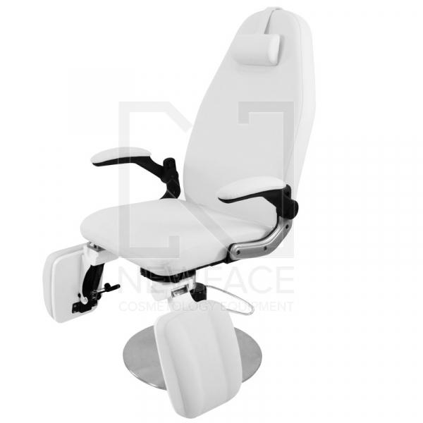 Fotel Podologiczny Hydrauliczny Azzurro 713A Biały #2