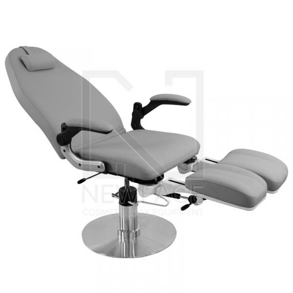 Fotel Podologiczny Hydrauliczny Azzurro 713A Szary #2