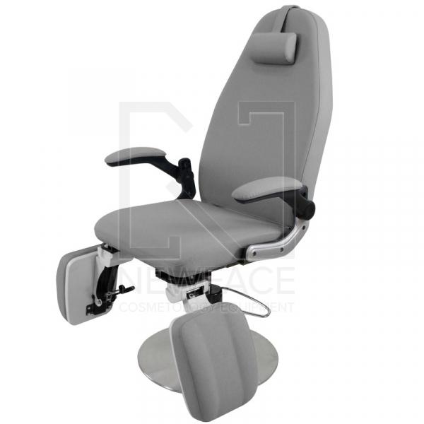 Fotel Podologiczny Hydrauliczny Azzurro 713A Szary #3