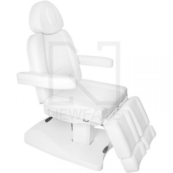 Fotel Kosmetyczny Elektr. Azzurro 803as Pedi 2 Siln. Biały #5