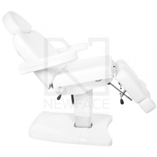 Fotel Kosmetyczny Elektr. Azzurro 803as Pedi 2 Siln. Biały #7
