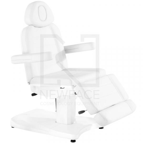 Fotel Kosmetyczny Elektr. Azzurro 803A 2 Siln. Biały #1