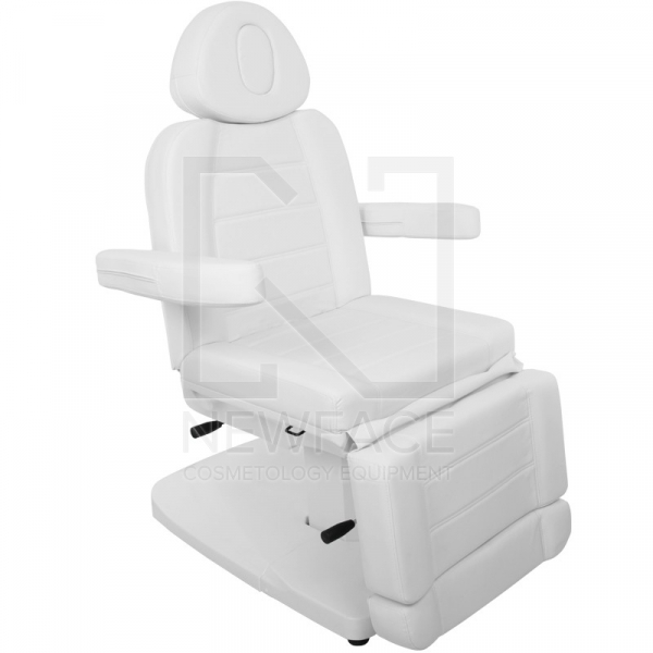 Fotel Kosmetyczny Elektr. Azzurro 803A 2 Siln. Biały #3