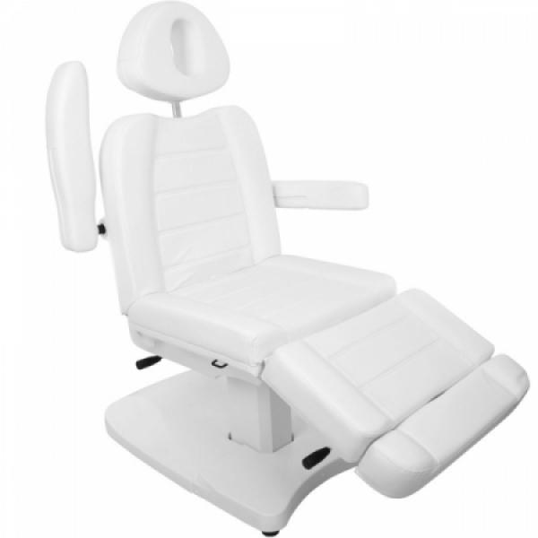 Fotel Kosmetyczny Elektr. Azzurro 803A 2 Siln. Biały #4