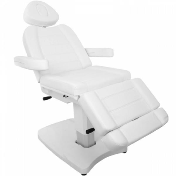 Fotel Kosmetyczny Elektr. Azzurro 803A 2 Siln. Biały #5