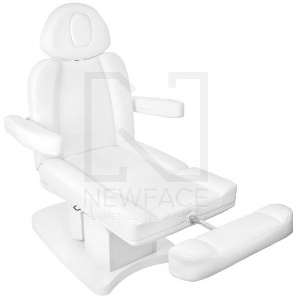 Fotel Kosmetyczny Elektr. Azzurro 708a 4 Siln. Biały #4