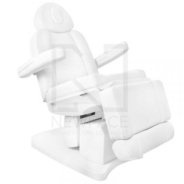 Fotel Kosmetyczny Elektr. Azzurro 708a 4 Siln. Biały #7