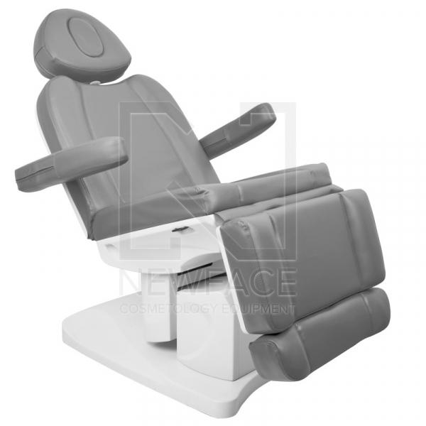 Fotel Kosmetyczny Elektr. Azzurro 708a 4 Siln. Szary #1