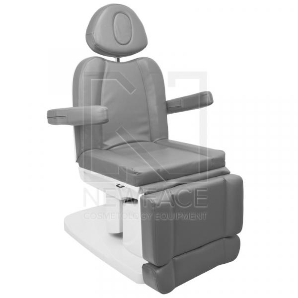 Fotel Kosmetyczny Elektr. Azzurro 708a 4 Siln. Szary #2