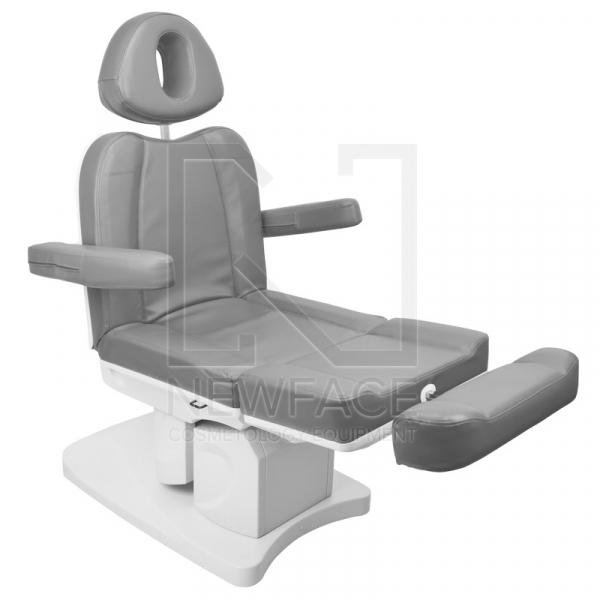 Fotel Kosmetyczny Elektr. Azzurro 708a 4 Siln. Szary #4