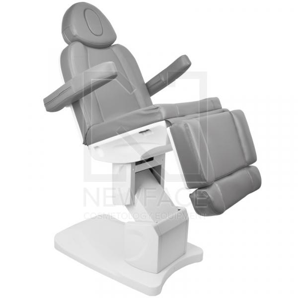 Fotel Kosmetyczny Elektr. Azzurro 708a 4 Siln. Szary #5