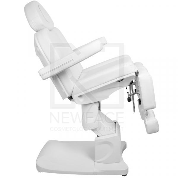 Fotel Kosmetyczny Elektr. Azzurro 708as Pedi 3 Siln. Biały #8