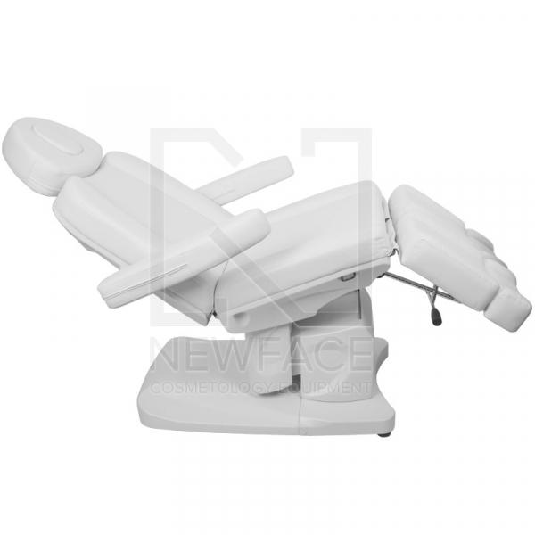 Fotel Kosmetyczny Elektr. Azzurro 708as Pedi 3 Siln. Biały #9
