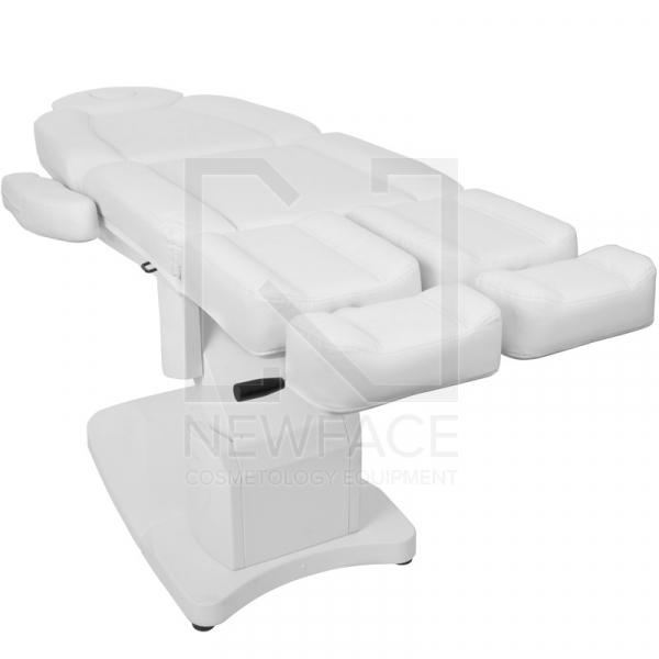 Fotel Kosmetyczny Elektr. Azzurro 708as Pedi 3 Siln. Biały #11
