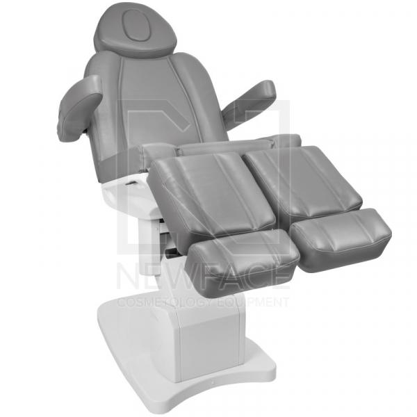 Fotel Kosmetyczny Elektr. Azzurro 708as Pedi 3 Siln. Szary #2