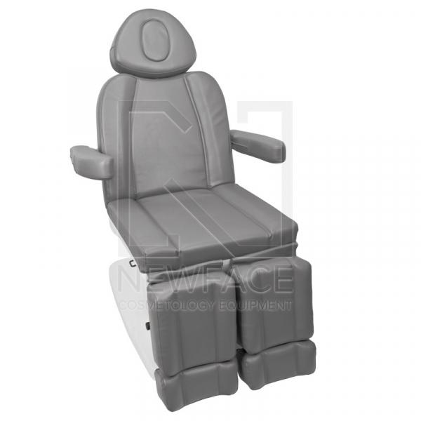 Fotel Kosmetyczny Elektr. Azzurro 708as Pedi 3 Siln. Szary #6