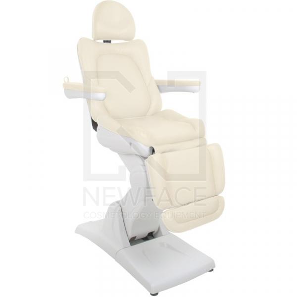 Fotel Kosmetyczny Elektr. Azzurro 870 3 Siln. Latte #1