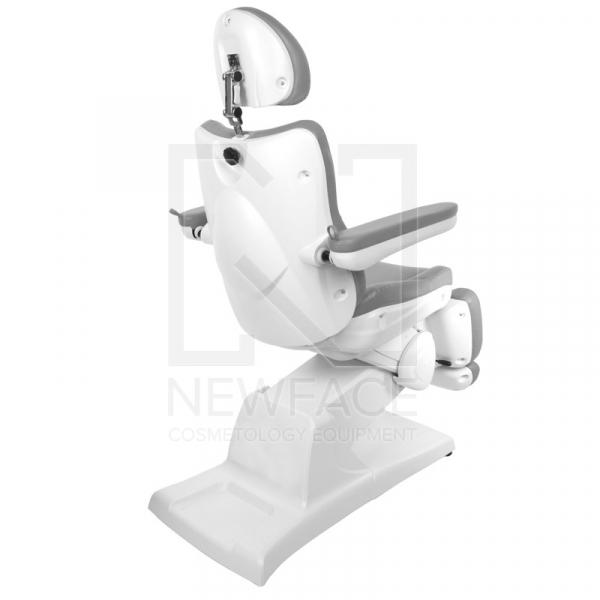Fotel Kosmetyczny Elektryczny Azzurro 870 Szary #1