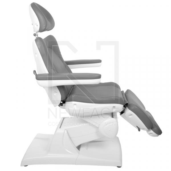 Fotel Kosmetyczny Elektryczny Azzurro 870 Szary #4