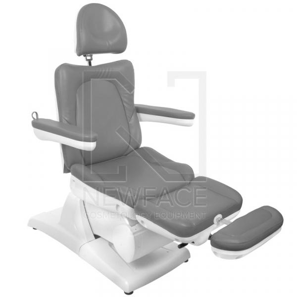Fotel Kosmetyczny Elektryczny Azzurro 870 Szary #5