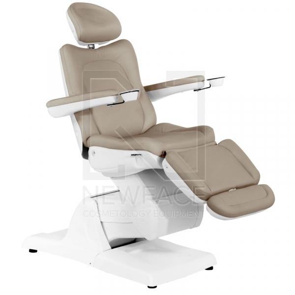 Fotel Kosmetyczny Elektryczny Azzurro 870 Cappuccino #1