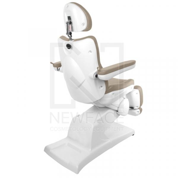 Fotel Kosmetyczny Elektryczny Azzurro 870 Cappuccino #3