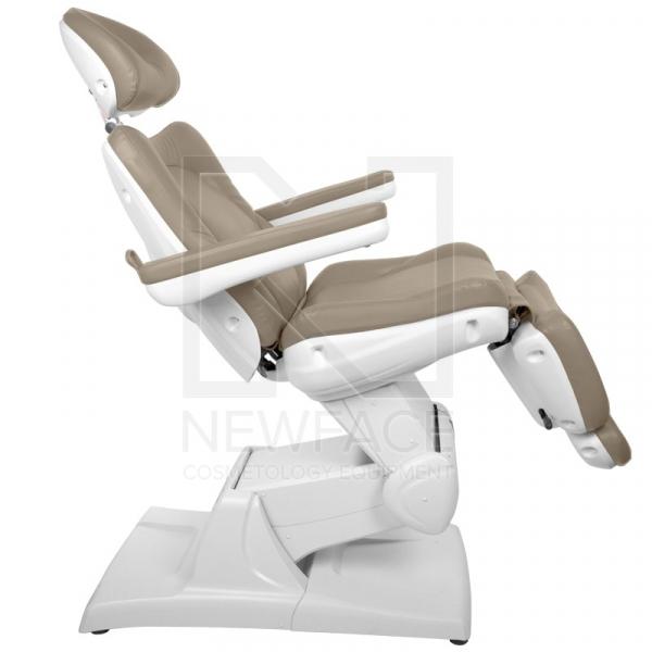 Fotel Kosmetyczny Elektryczny Azzurro 870 Cappuccino #4