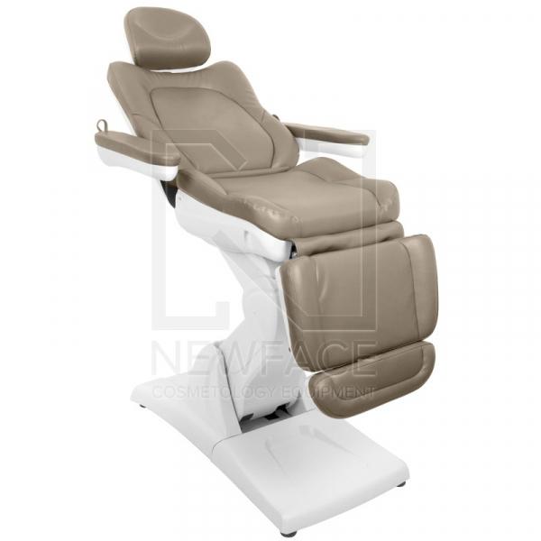 Fotel Kosmetyczny Elektryczny Azzurro 870 Cappuccino #6