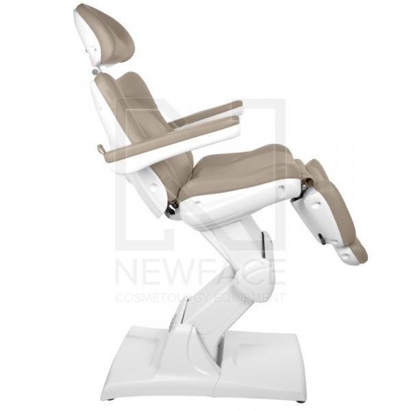 Fotel Kosmetyczny Elektryczny Azzurro 870 Cappuccino #8