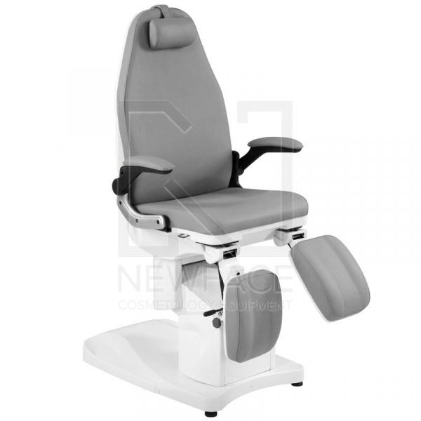 Fotel Podologiczny Elektryczny Azzurro 709A Szary #1
